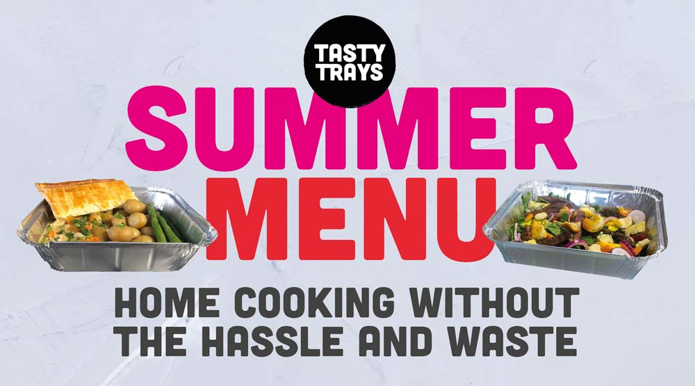 Tasty Trays Summer Launch
