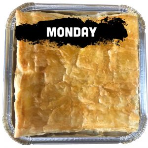 Monday - Chicken Pot Pie