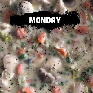 Monday - Chicken Pot Pie