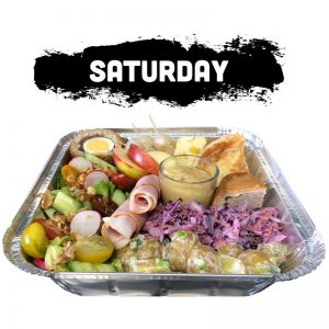 Saturday - Loaded Ploughman's Tray
