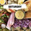 Saturday - Loaded Ploughman's Tray