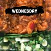 Wednesday - Lamb Keema Pie & Green Veggies Tray