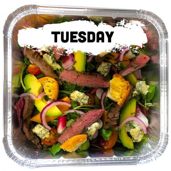 Tuesday - Steak & Stilton Salad