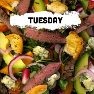 Tuesday - Steak & Stilton Salad