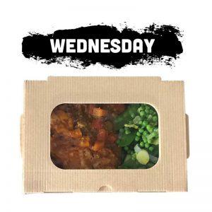 Wednesday - Keema Pie & Green Veggies